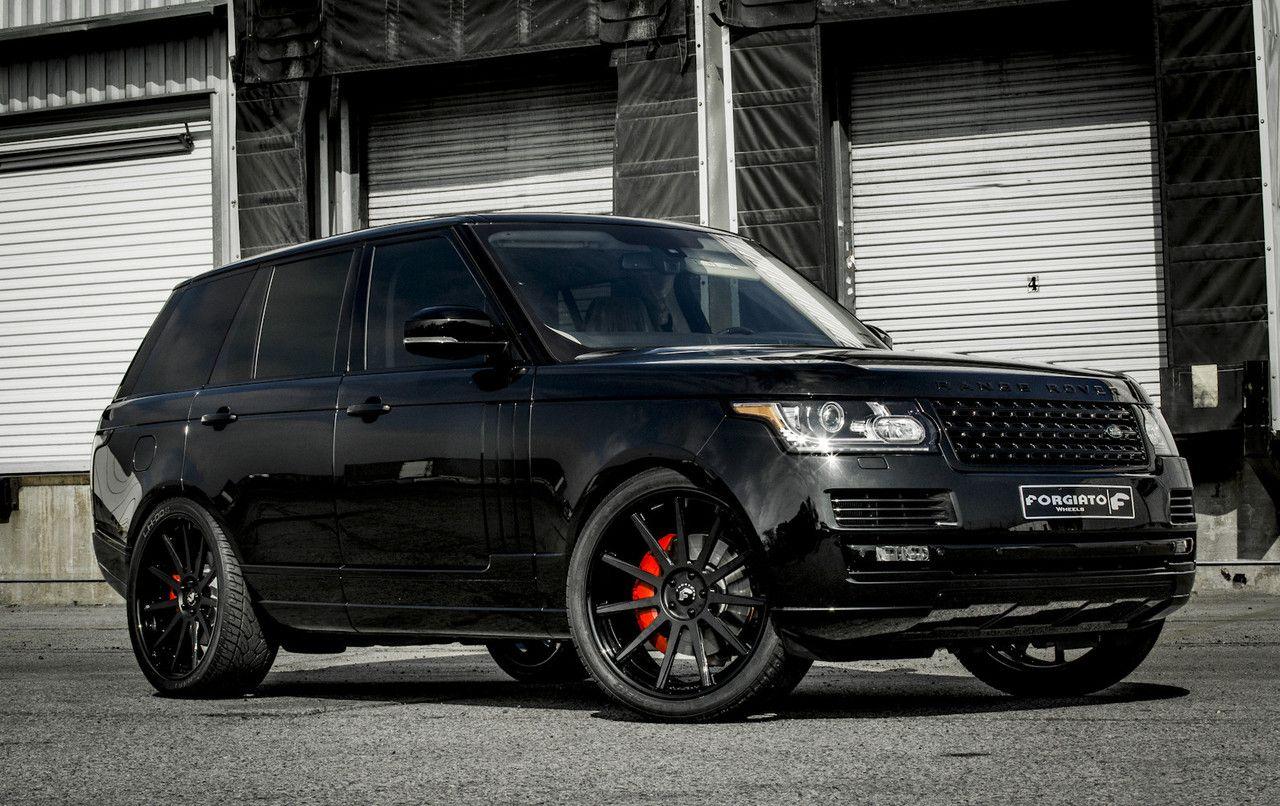 black Ranger Rover Range rover car, Range rover hse, Car