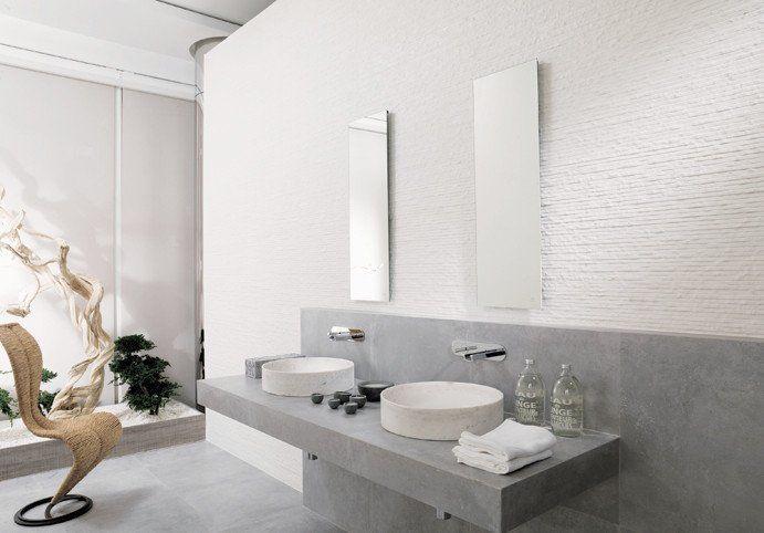Porcelanosa Wall Tile Laja Blanco Contemporary Bathroom Designs Modern Bathroom Tile Bathroom Design