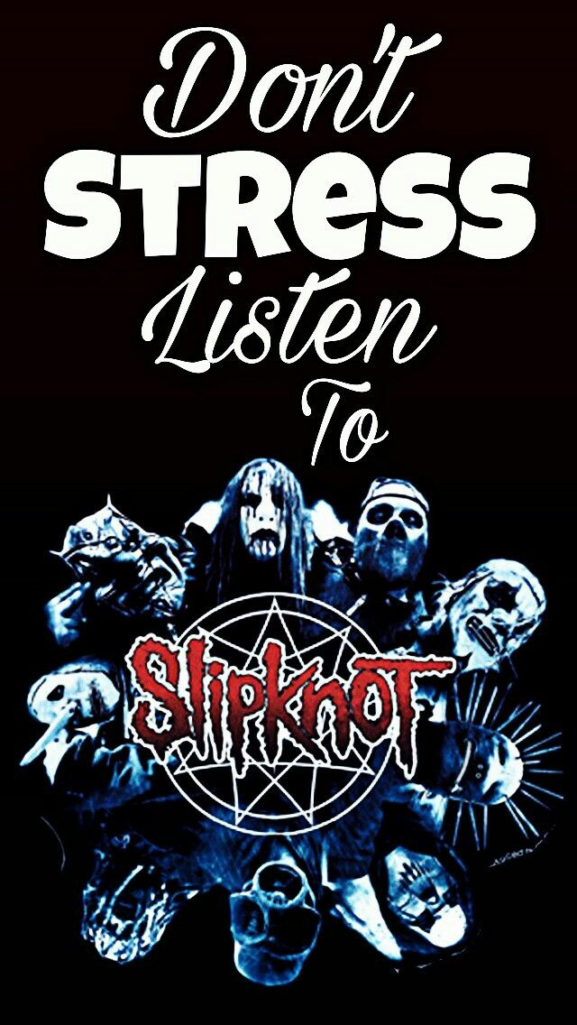 Don T Stress Listen To Slipknot Wallpaper Stress Darth Vader