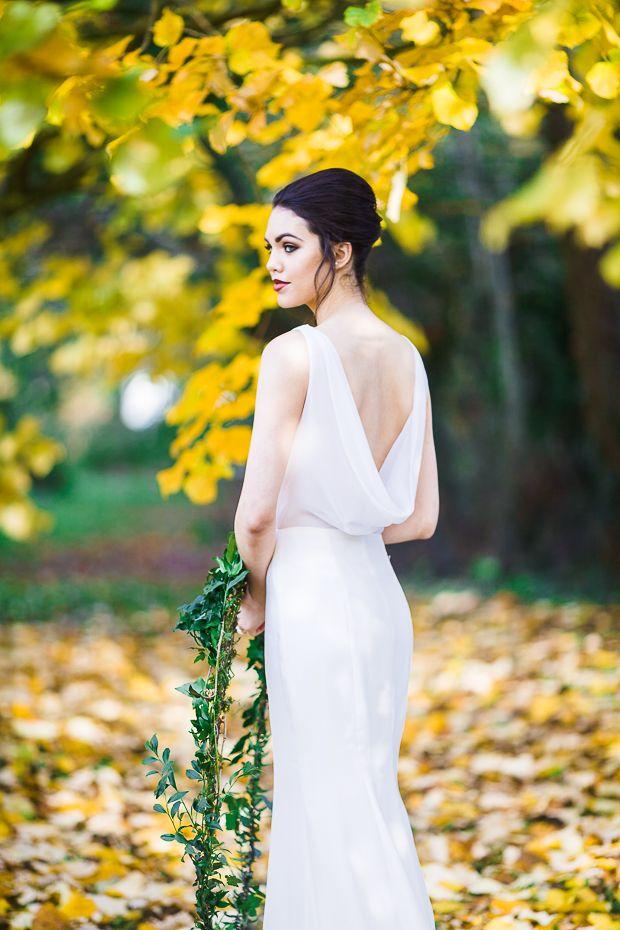 38e8d398c90  The Huntress  Beautiful Spring Bridal Shoot by Sarah Foy Designs see more  at http