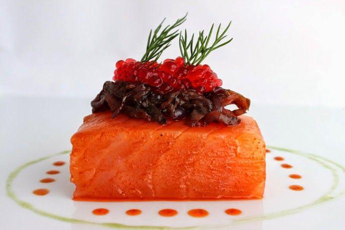 TACOS DE SALMON MARINADO AL PIMENTON AHUMADO DULCE ~ The Spanish Food