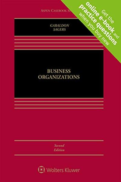 Business Organizations Aspen Casebook By Theresa A Gabaldon Wolters Kluwer Ebook Books Free Ebooks