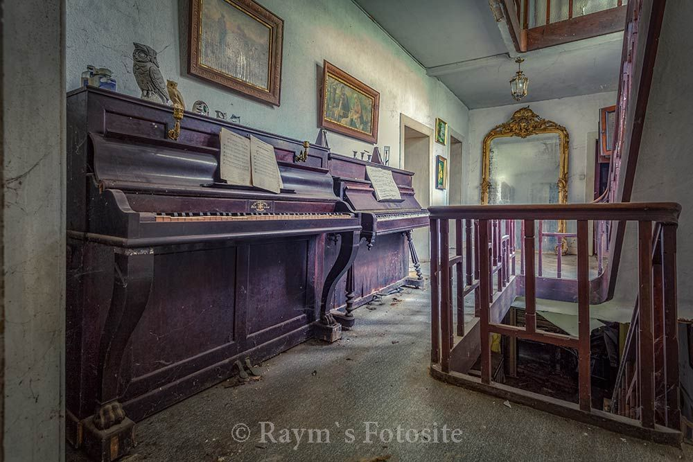 Beethoven Huis,urbex,verlaten huis,piano`s,belgië