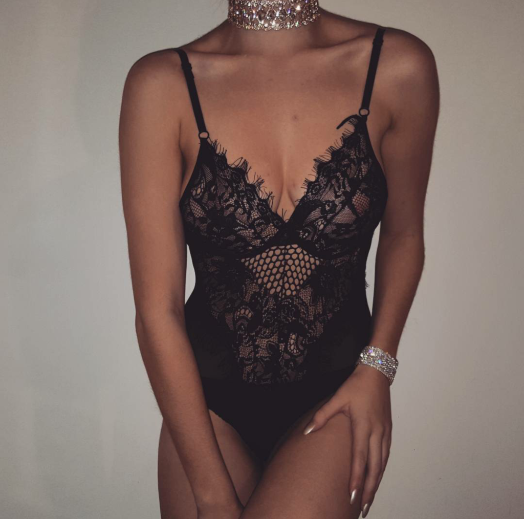 Lace Underwired Bodysuit in 2019 | lingerie | Bodysuit ...