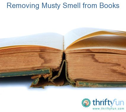 how to get rid of the smell of damp books