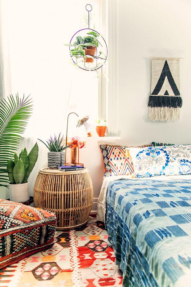 10 Staples Every boho home needs with Etsy Boho bedroom