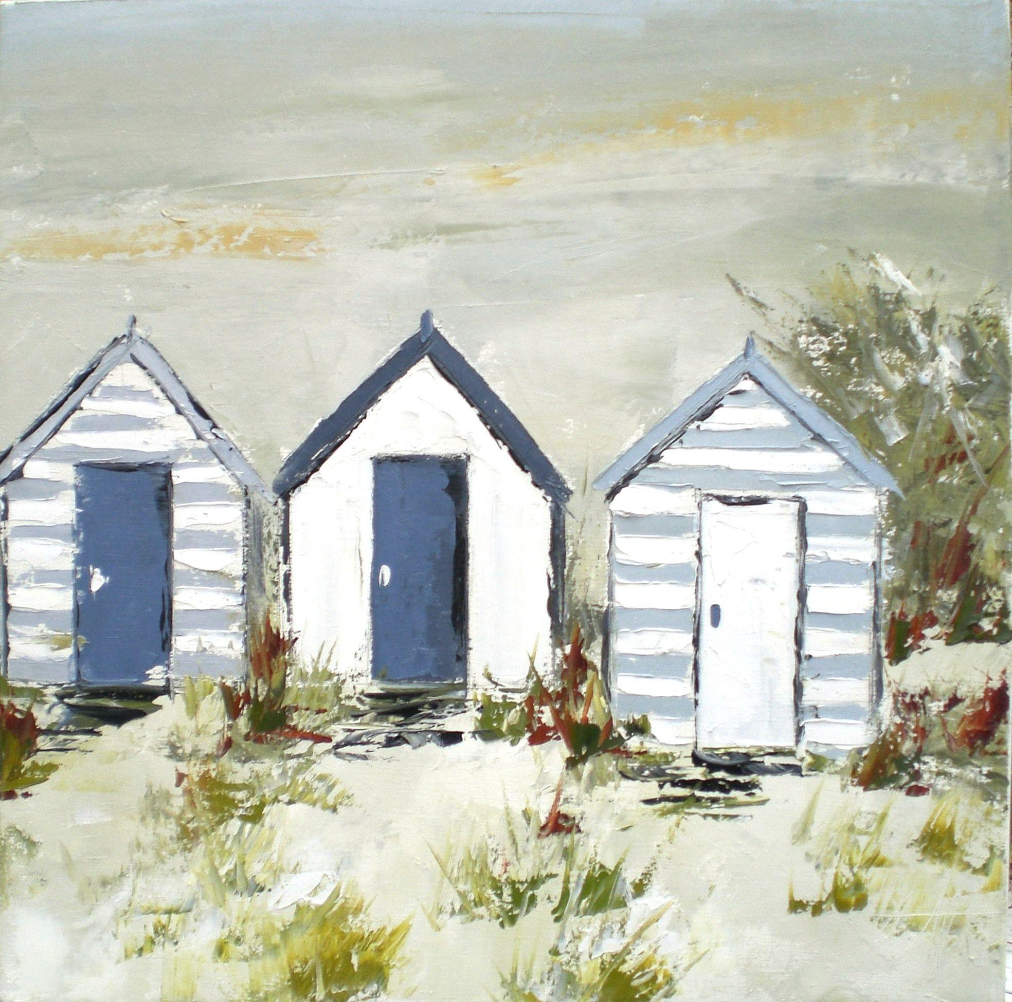 Marchand de sable   Peinture abstraite toile, Plage ...