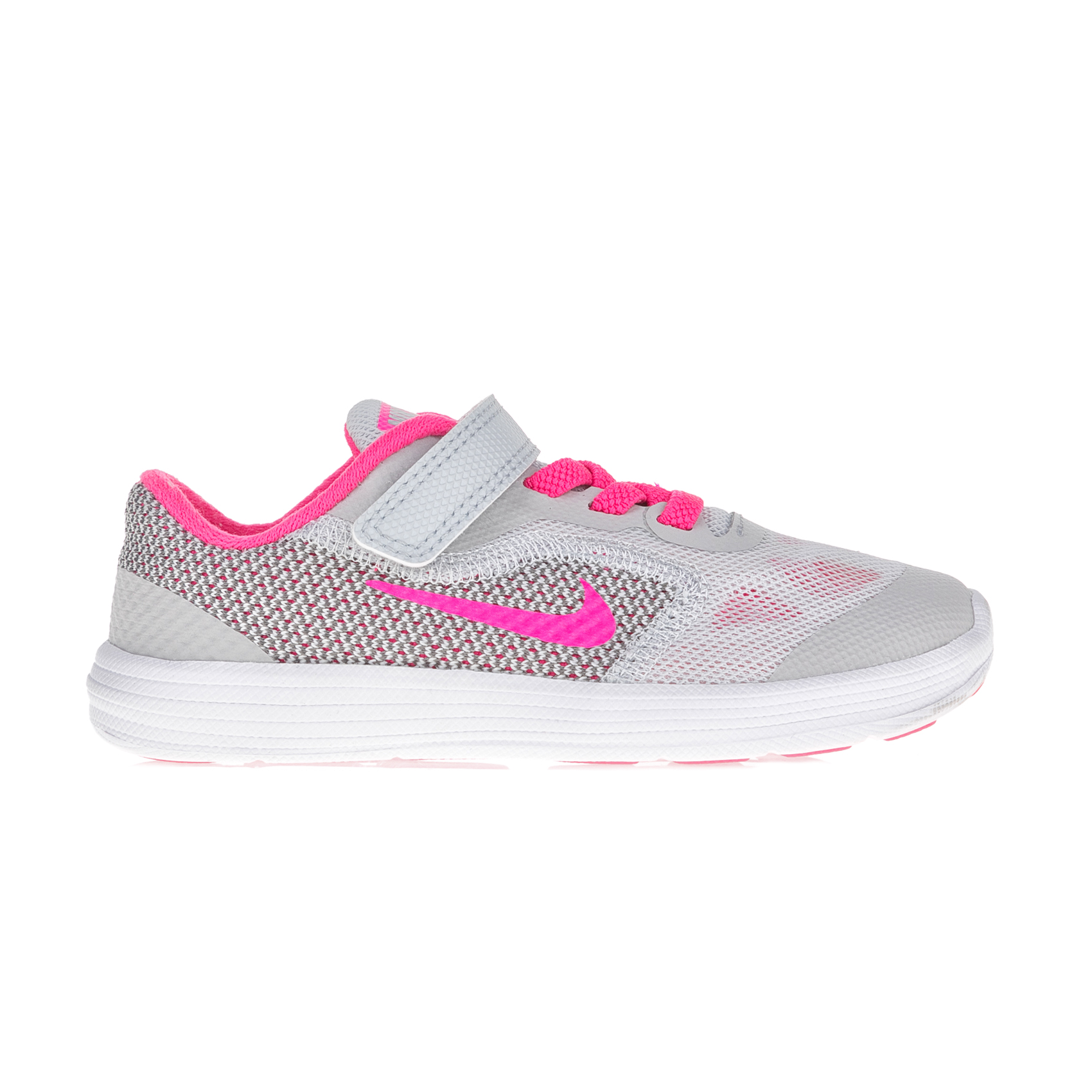 fb219b64818 NIKE – Βρεφικά αθλητικά παπούτσια Nike REVOLUTION 3 (TDV) λευκά – ροζ  Παιδικά/