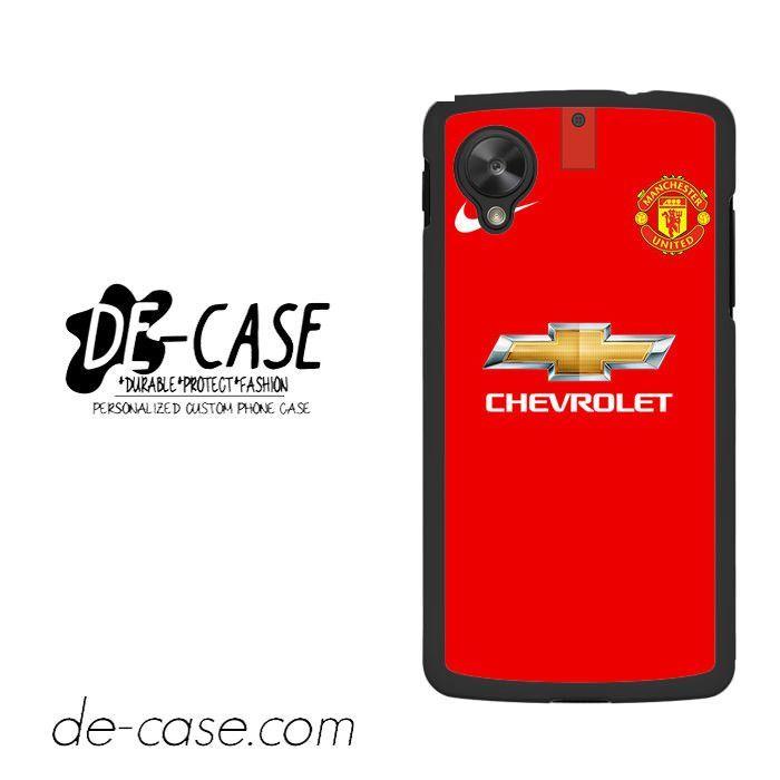 Manchester United Jersey 2 For Google Nexus 5 Case Phone Case Gift Present YO