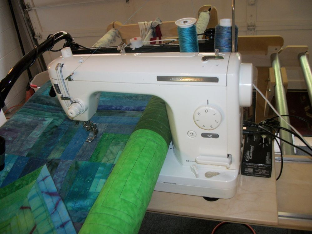 Machine Quilting System: Juki TL-98E, Hinterberg King Frame, Stitch ...