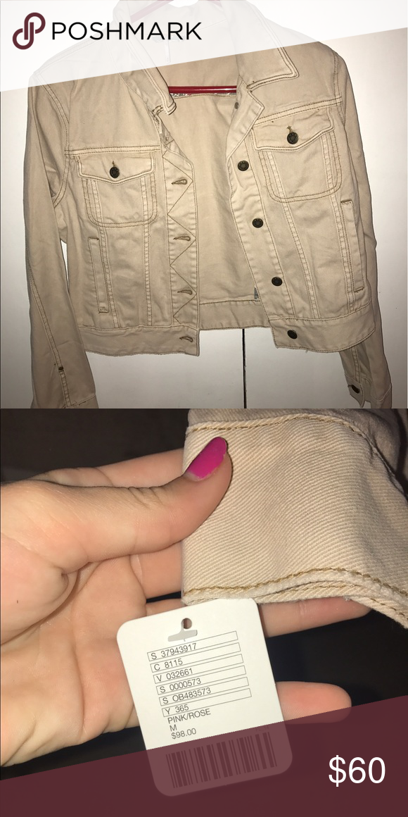 Free People jacket Pink/Rose in person. Flash drowned out color Free People Jackets & Coats
