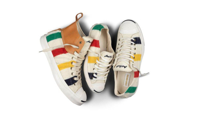 96fefc72e751 Converse Jack Purcell and Hudson s Bay collaboration