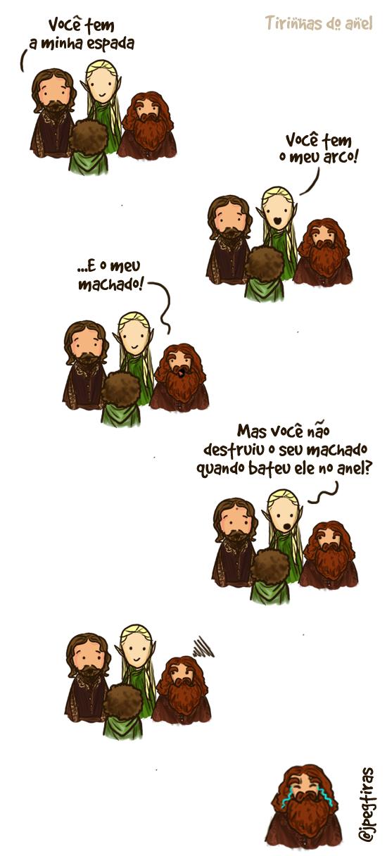 .: Tirinhas do Anel