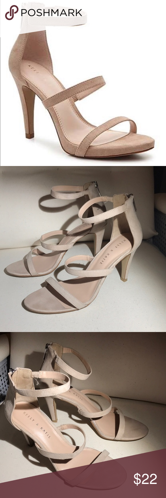 5fa841fb1 Courtnee sandal from Kelly   Katie nude back zip Courtnee sandal from Kelly    Katie.