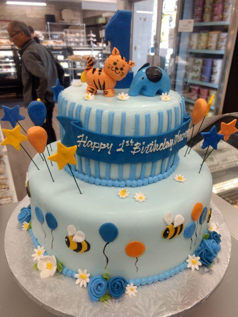 2 tier cakes google search baby birthday cakes custom