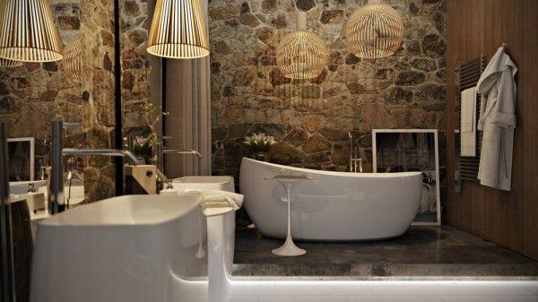 Salle de bain de luxe  quatre exemples impressionnants Bathroom
