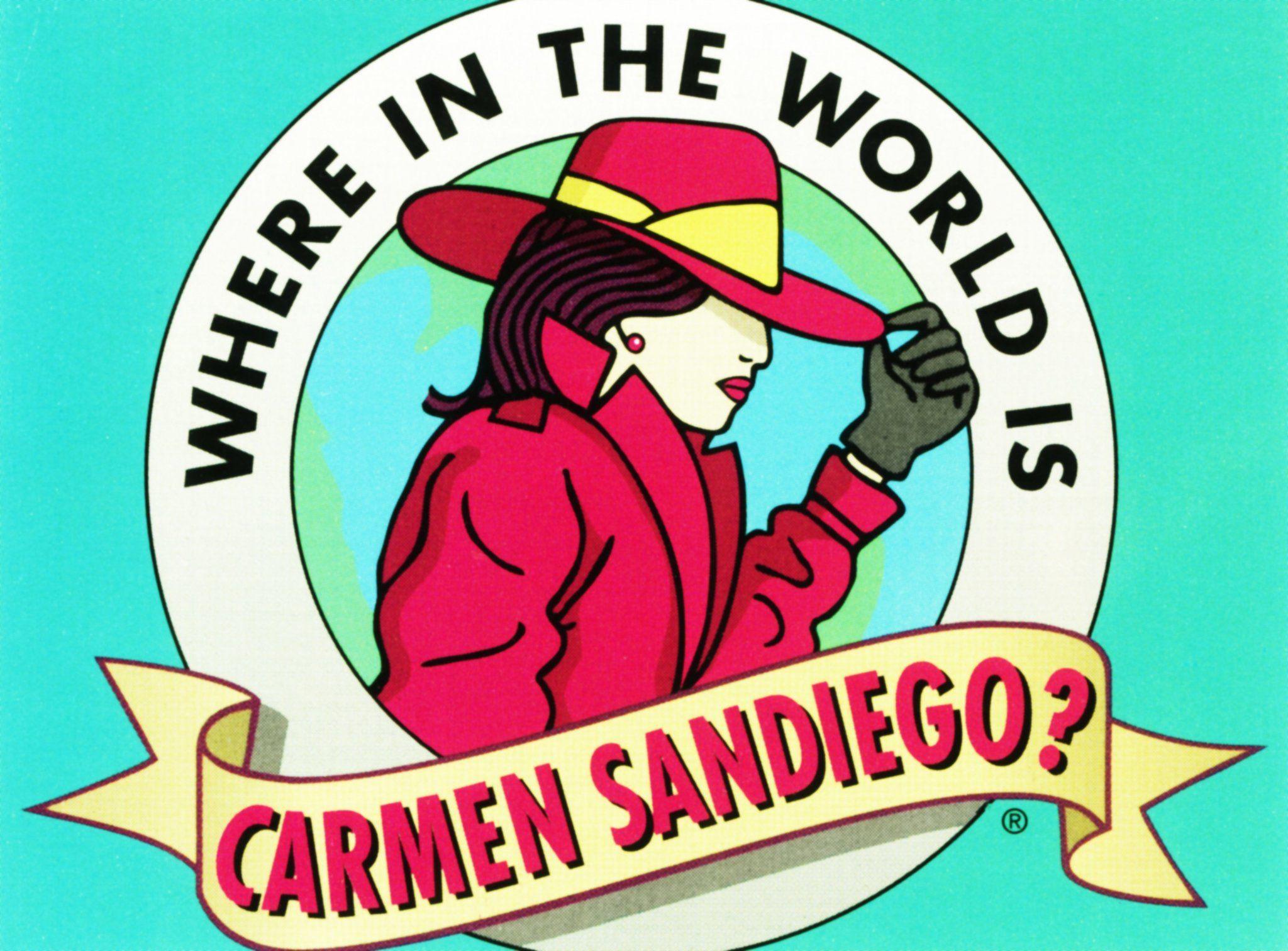 5d28957e Carmen Sandiego: The Inspiration | Carmen Sandiego | Carmen sandiego ...