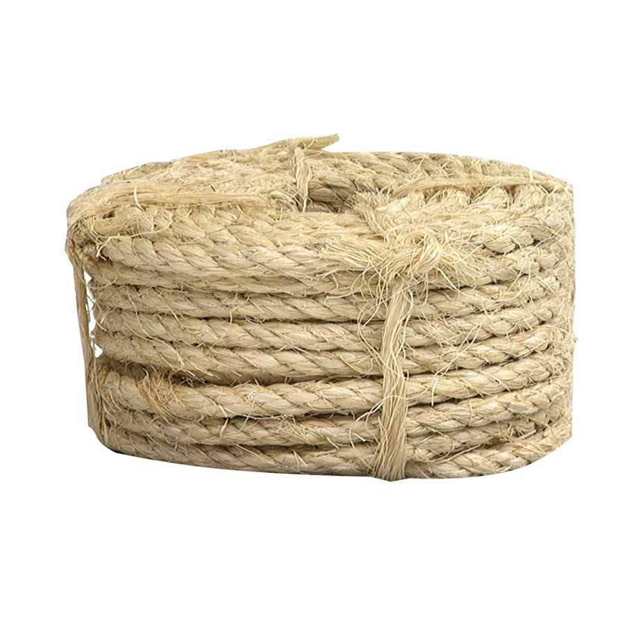 Lowe S Lehigh 1 4 In X 100 Ft Natural Twisted Sisal Rope Creative Uses For Old Tires Sisal Rope Natural Twists Sisal