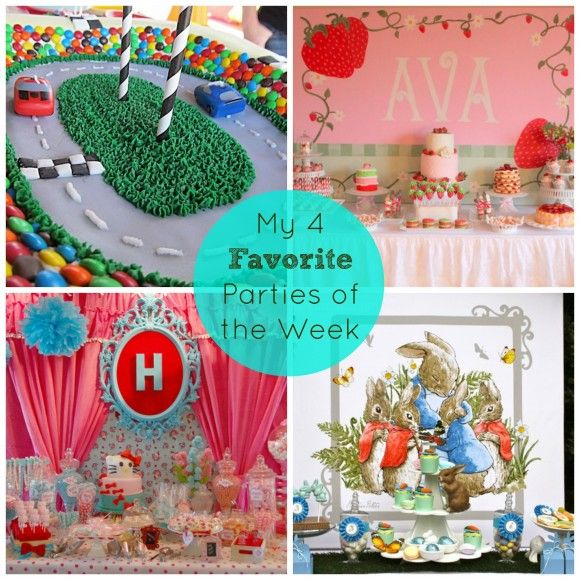 4 spring and easter great ideas for parties