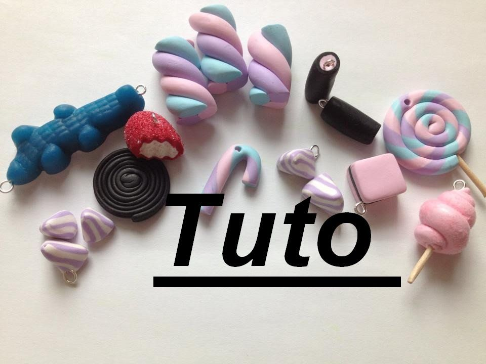 tuto fimo bonbons personnage a modeler pinterest tuto fimo bonbon et fimo. Black Bedroom Furniture Sets. Home Design Ideas