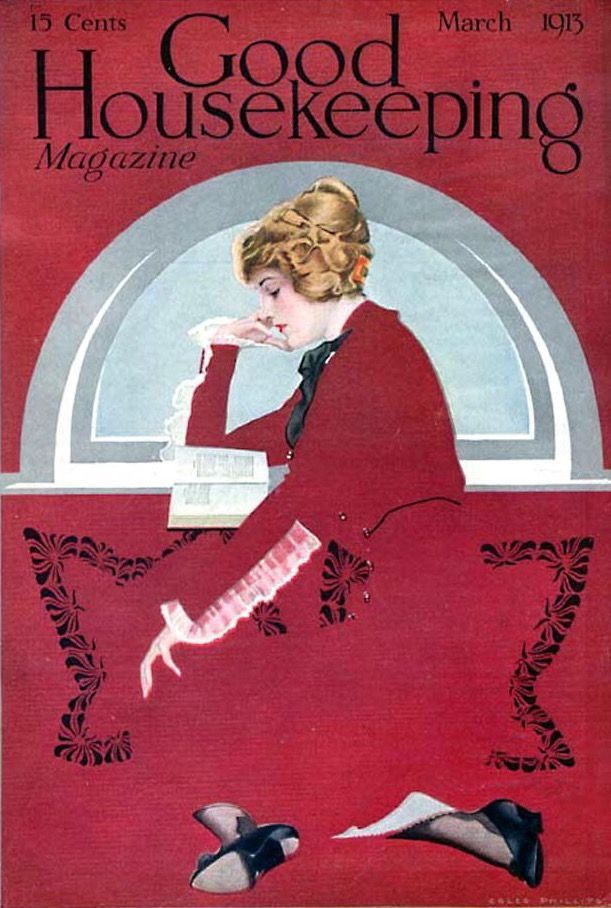 Good Housekeeping Magazine, March 1913 (Coles Phillips)