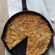 Potato and Comté Galette   Culture: the word on cheese