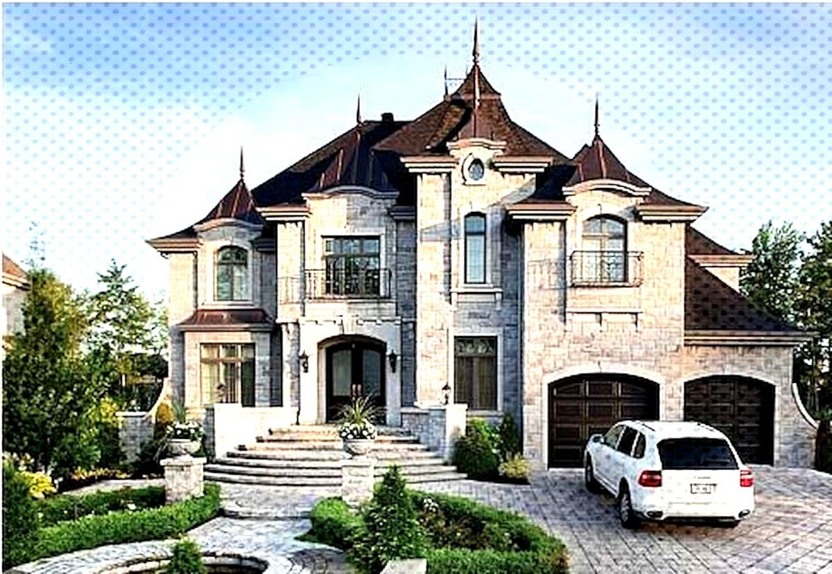 Castles Htm Txt French Country Manor Chateau Luxury Design Blueprint Gif 896 598 Mansions Luxury House Plans Dream House