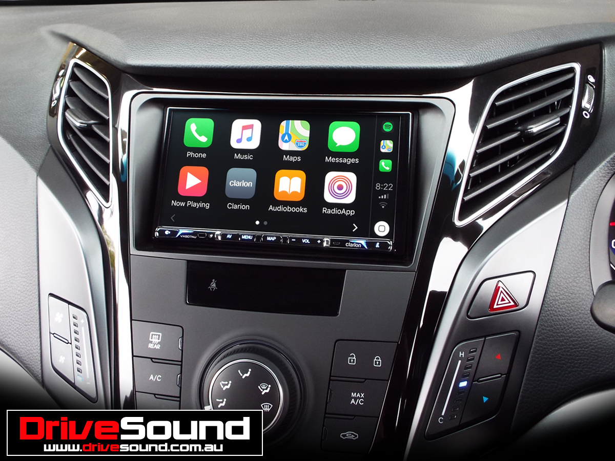 Hyundai i40 with Apple CarPlay installed by DriveSound