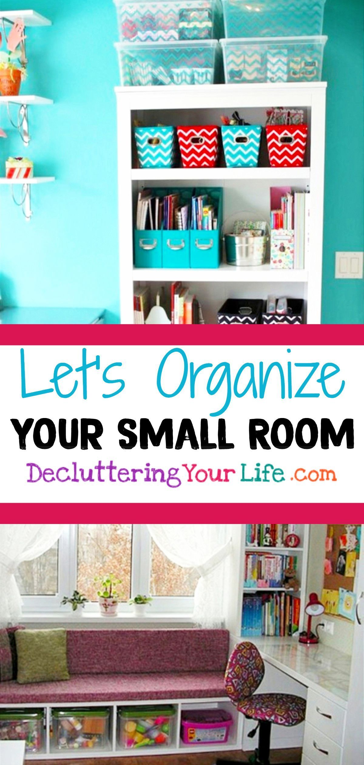 Storage Hacks! How To Organize a Small House With NO Storage Space