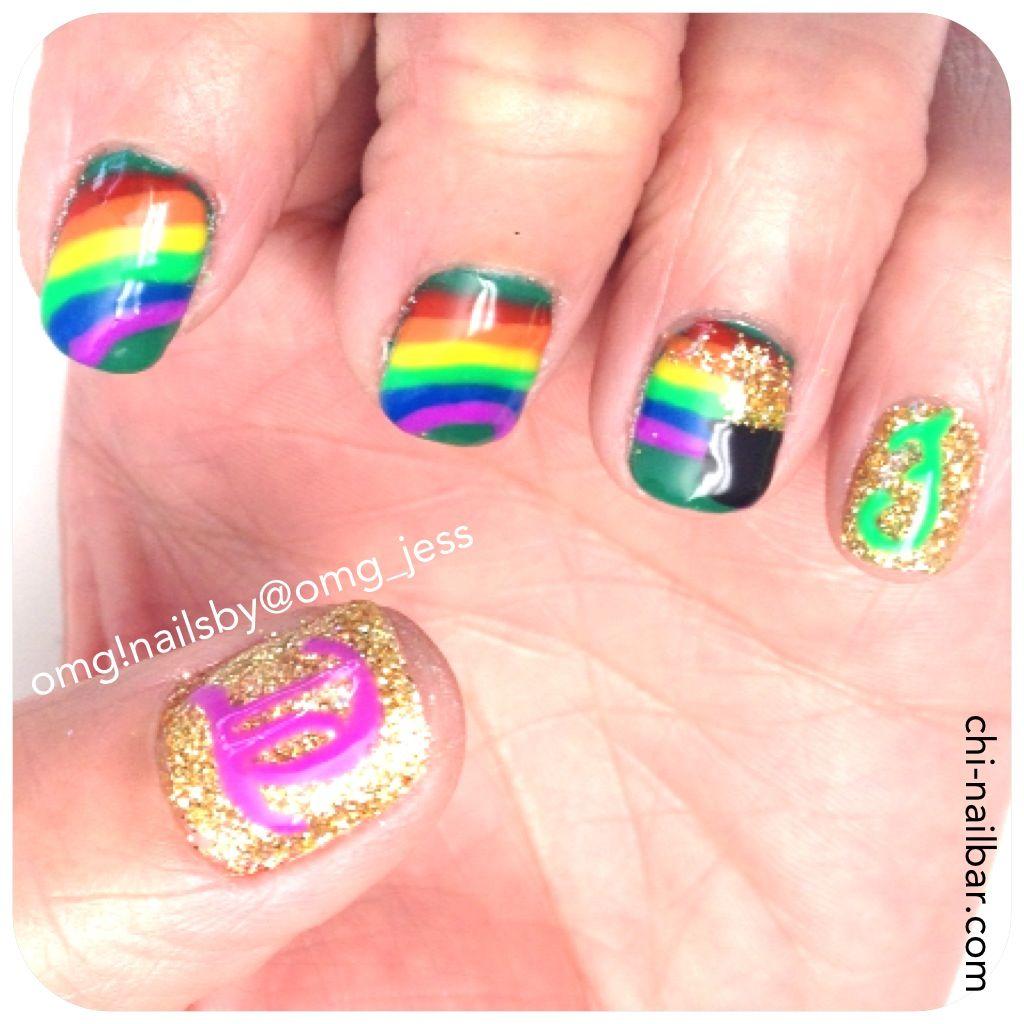 Pins check out www mynailpolishobsession com for more nail art ideas - St Patrick S Day Nail Art Check Out Www Mynailpolishobsession Com For More Nail