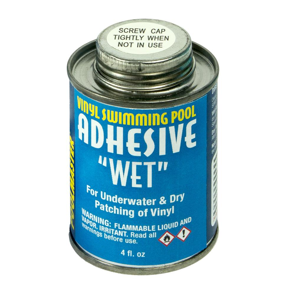 Poolmaster 4 Ounce Can Of Vinyl Swimming Pool Adhesive Wet 30277 The Home Depot Vinyl Swimming Pool Plastic Swimming Pool Swimming Pools