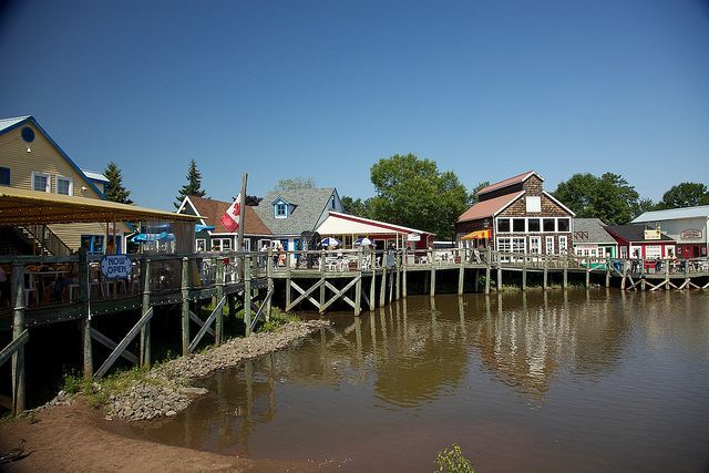 Wharf Village - Moncton Zoo and Magnetic Hill Moncton, New Brunswick