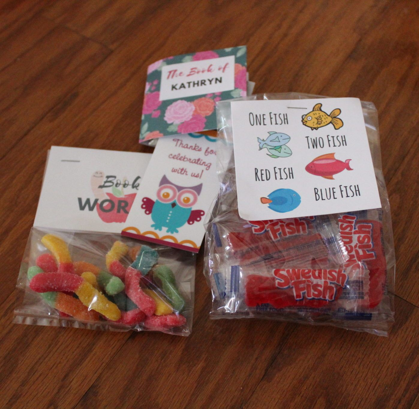 Library, Bookworm, Or Book Theme Birthday Party: Goodie