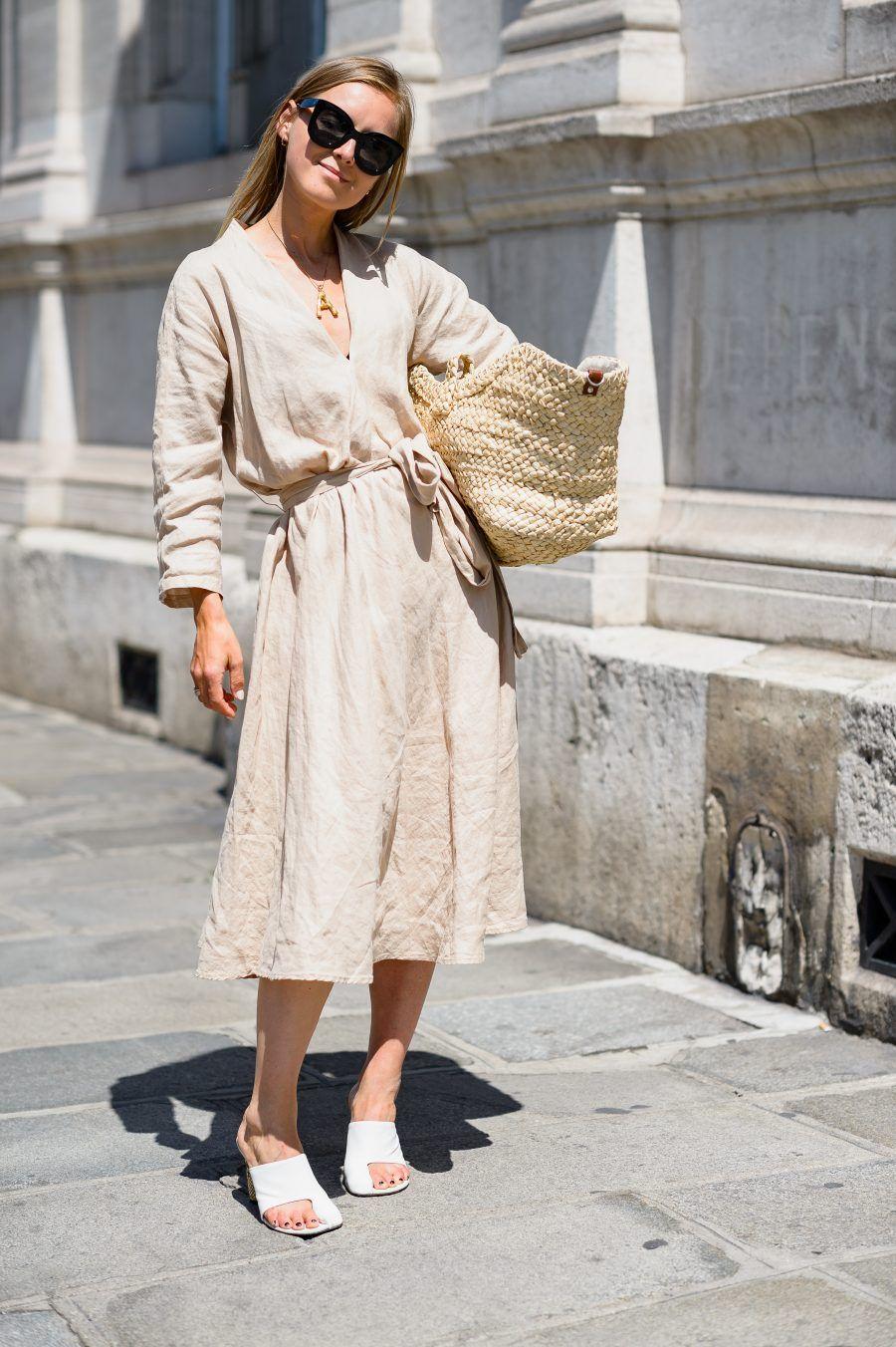 c27ed27b268 Zara linen dress new collection 2018