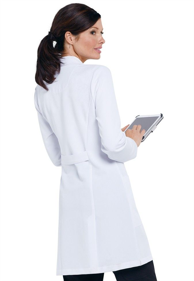 Greys Anatomy Signature Soft Stretch Lab Coat w tablet pocket ...