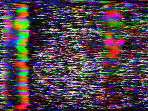 Vhs Dreams Glitch Art Rainbow Aesthetic Glitch