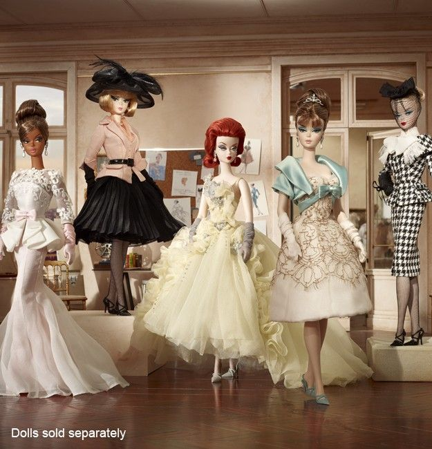 Gala Gown Barbie Doll - Collectible Fashion Model Collection Silkstone Dolls   Barbie Collector