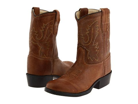 Old West Kids Boots Western Boot Infant Toddler Tan