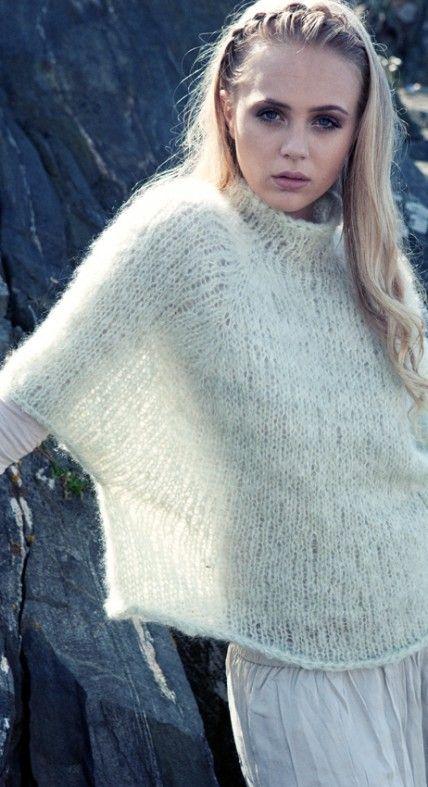 Cape i Mohair 3 | crochet and knit ideas | Pinterest