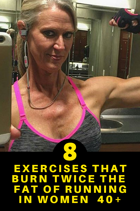 8 Exercises That Burn Twice The Fat Of Running In Women Over 40