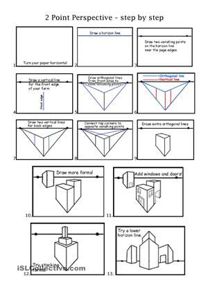 2 point perspective handout