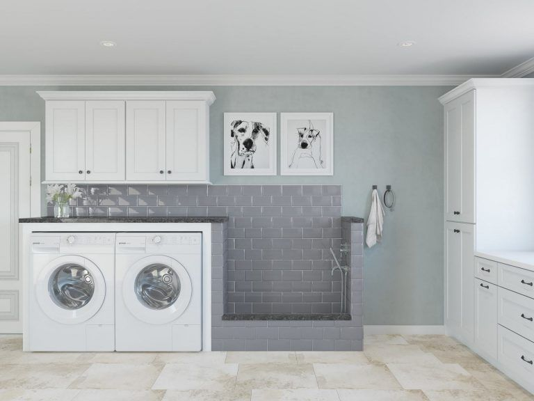 How To Design A Timelessly Beautiful Laundry Room With Shaker