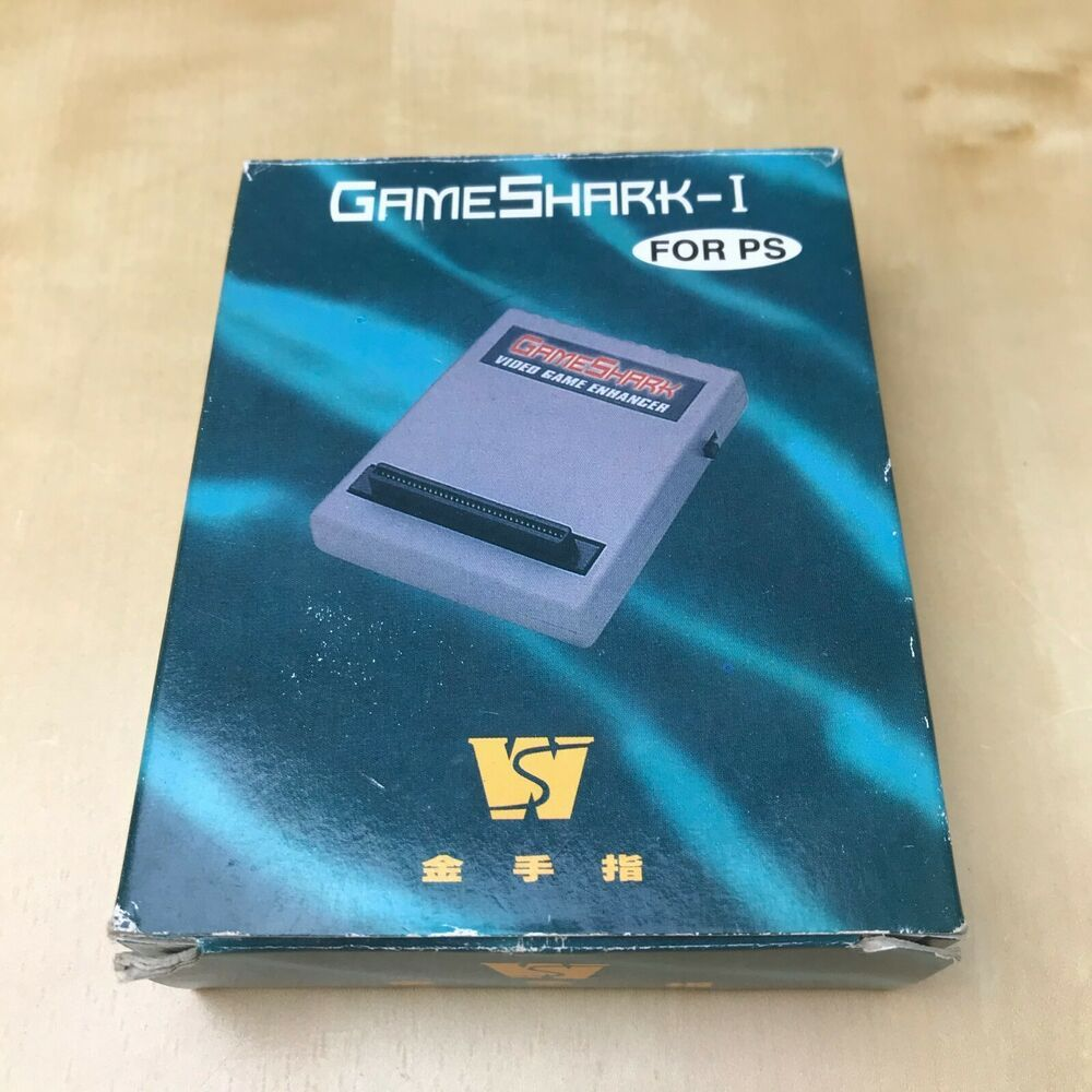 GameShark Game Enhancer+ for Sony PS1 Playstation 1 Console