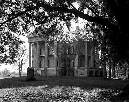 Abandoned antebellum plantation by southern for Abandoned plantations in the south for sale