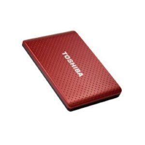 Amazon.com: TOSHIBA 1TB Automatic Backup Portable Hard Drive USB 3.0&2.0 Burgundy: Computers & Accessories