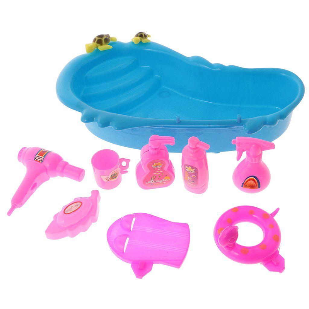 Pin Von Spielzeugtester Auf Spielzeugtester In 2020 Barbie Badezimmer Puppenmobel Badewanne
