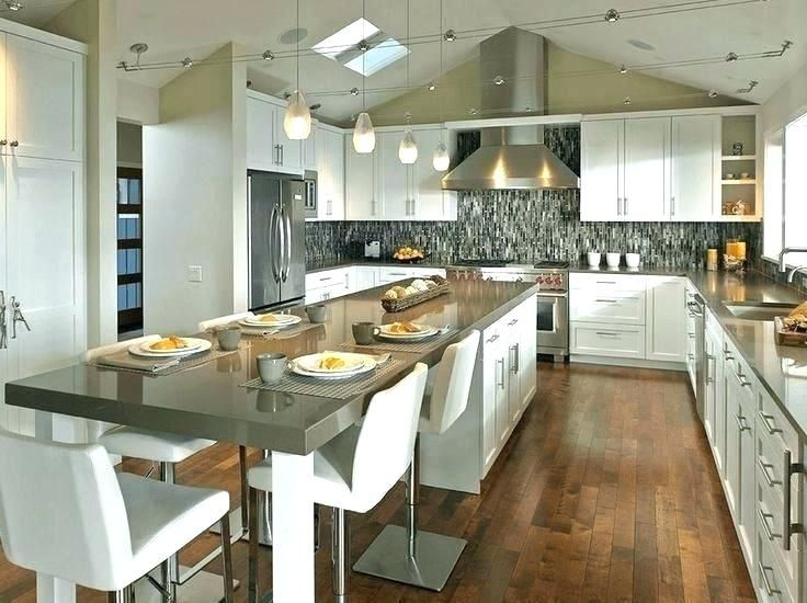narrow kitchen diner designs long skinny kitchen layout long narrow kitchen layout ideas - Lu... #longnarrowkitchen