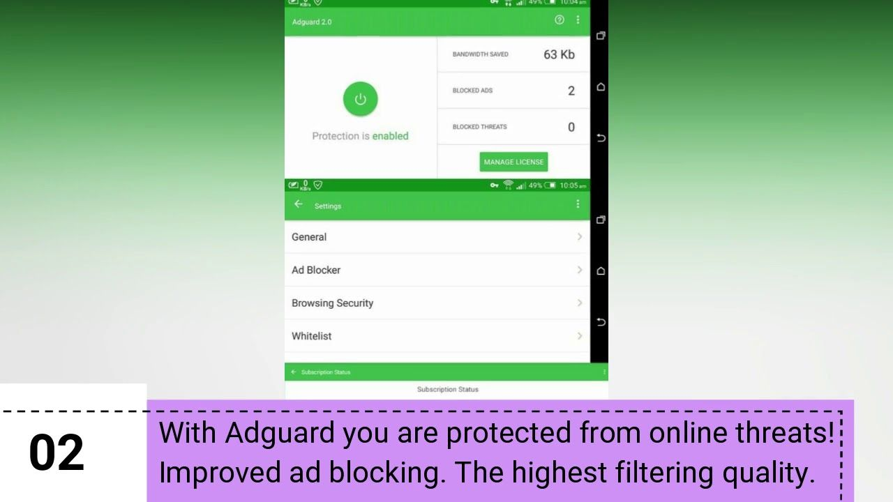 Adguard Premium V2 11 81 Final Full Apk For Android Block Ads Without Root Ads Ad Block Android