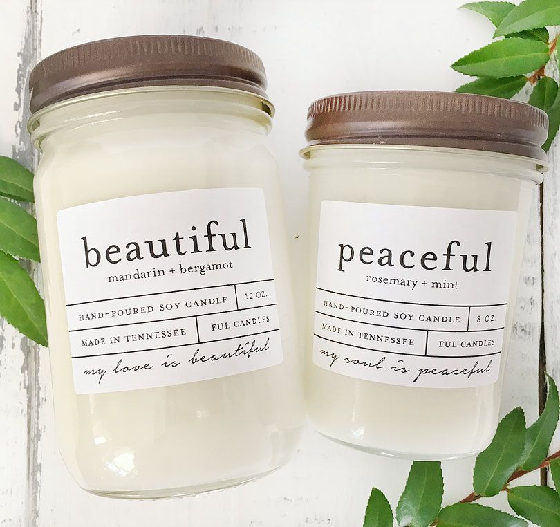 Small Batch Hand Made Soy Candles Tennessee Soy Candle Making Mason Jar Candles Candle Making