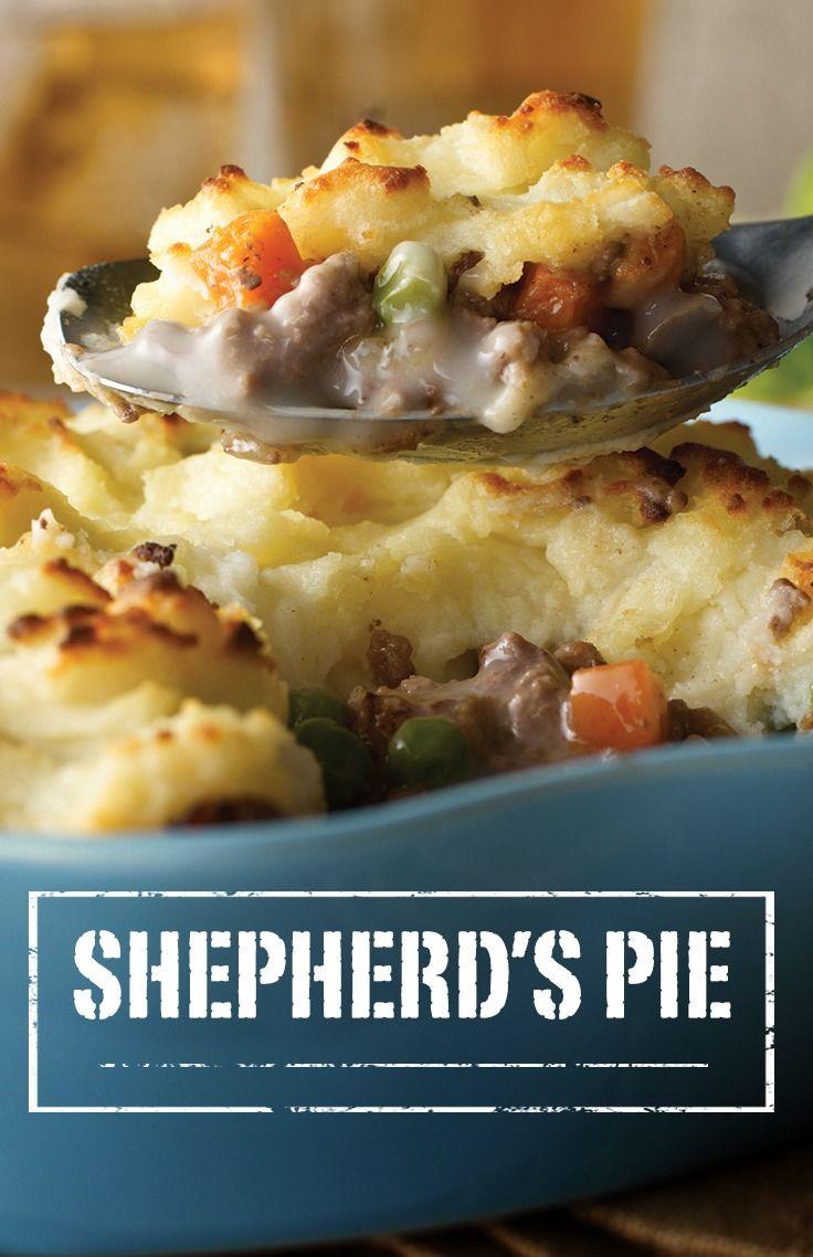 Shepherd S Pie Recipe Food Recipes Campbells Shepherds Pie Recipe Food